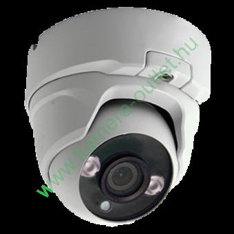 MZ 3T23D4 3MPixel Kültéri kamera HDTVI/HDCVI/AHD és Analóg rögzítőkhöz, éjjellátó:20m IR táv, 86° látószög, 3 év garancia!
