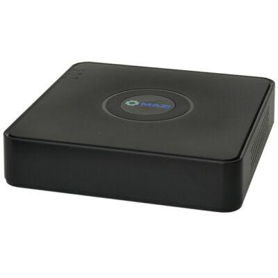 MAZi IMVR 04A zajtalan 4 csatornás rögzítő FullHD-s IP kamerákhoz, ajándék egér, díjtalan szállítás, 3 év garancia!!