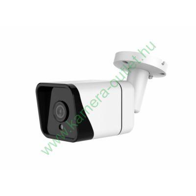 OZY B4F-T-3, 4MPixel Kültéri kamera HDTVI / AHD és Analóg rögzítőkhöz, éjjellátó:25m IR táv, 70° látószög, 3 év garancia!