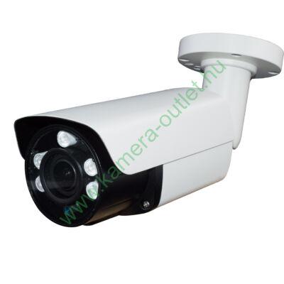 OZY B2V-T-5, 2MPixel( FullHD) Kültéri kamera HDTVI / AHD és Analóg rögzítőkhöz, éjjellátó:50m IR táv, max 108° látószög, 4x manuális zoom,  3 év garancia!