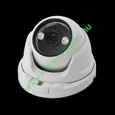 OZY D2F-T-2, 2MPixel (FullHD) Kültéri kamera HDTVI/HDCVI/AHD és Analóg rögzítőkhöz, éjjellátó:15m IR táv, 84° látószög, 3 év garancia!