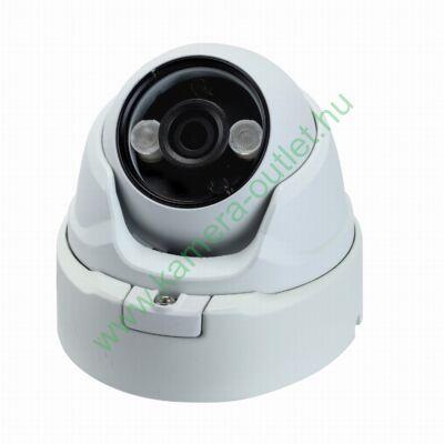 OZY D4F-T-E-2, 4MPixel Kültéri kamera HDTVI/HDCVI/AHD és Analóg rögzítőkhöz, éjjellátó:20m IR táv, 70° látószög, 3 év garancia!
