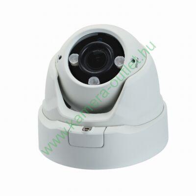 OZY D2V-T-E-3, 2MPixel( FullHD) Kültéri kamera HDTVI / AHD és Analóg rögzítőkhöz, éjjellátó:30m IR táv, max 108° látószög, 4x manuális zoom,  3 év garancia!