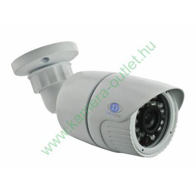 "DIGICAM DIB-3010 DIGICAM 1.3MP IP Kültéri IR kamera, 1/3"" CMOS, 1280x960 felbontás, valós D&N, 3.6mm (70°), max. 15-20m IR táv (23db), H.264, ONVIF, 12V DC, fehér"