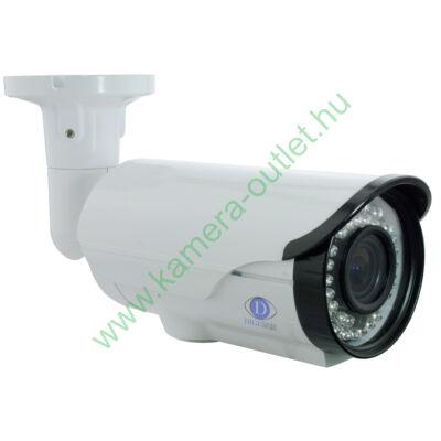 DIGICAM DTB-3050V DIGICAM HD-TVI Kültéri IR kamera, 1 MP CMOS, valós D&N, 2,8-12mm (87°-27°) optika, max. 25-35m IR táv (42db)