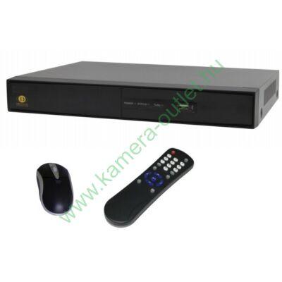 DIGICAM DPT-16196MA PREMIUM 16+2 csatornás rögzítő 16 db HD-TVI/analóg és 2db 2Mpixeles IP kamera kezelése, VGA, HDMI, audio kimenetek, 2db USB, Riasztási ki-bemenetek, gyári DDNS, egér, távirányító