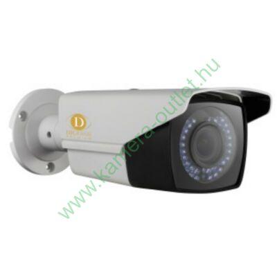 DIGICAM DPTB-4041V HD-TVI Kültéri IR kamera, 2MP CMOS, valós D&N, 2.8-12mm(102°-35°) optika, max. 25-30 IR táv (42db IR LED)