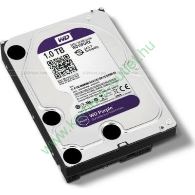 1 TB Western Digital SATA HDD Purple (garancia 3 év)