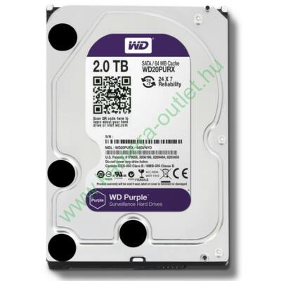2 TB Western Digital 7200rpm SATA-3 64MB