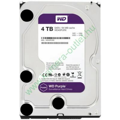4 TB Western Digital 7200rpm SATA-600 64MB