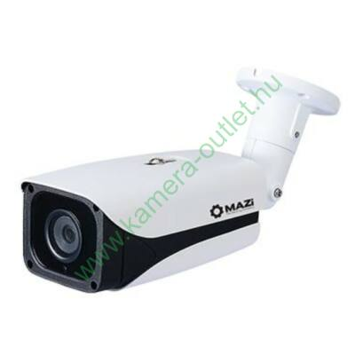 MAZI IWN-23XR FullHD (2 Mpixel) kültéri IP kamera, max. 40m IR táv, POE, 76° látószög, 3 év garancia,díjtalan szállítás