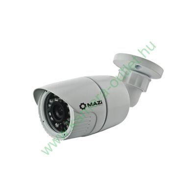 MAZI TWN 21SMIR4 2MPixel (FullHD) Kültéri kamera HDTVI/HDCVI/AHD és Analóg rögzítőkhöz, éjjellátó:20m IR táv, 91° látószög, 3 év garancia!