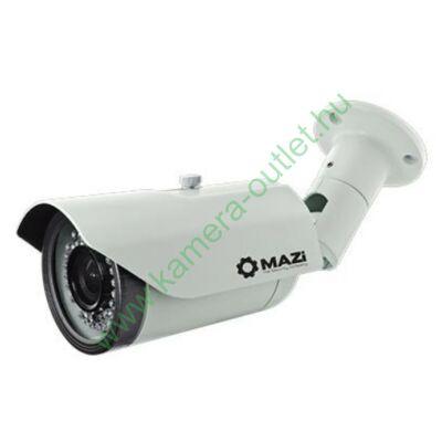 MAZI TWN 21SMVR4 FullHD (2MPixel) HDTVI Kültéri kamera, manuálisan zoomolható,108 fokos látószög, Turbo HD és analóg rögzítőhöz is használható, éjjellátó: max.30m IR táv, 3év garancia, díjtalanul szállítjuk
