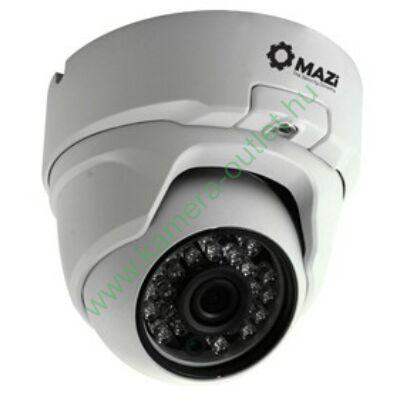 MAZI TVN 21SMIR4 2MPixel (FullHD) Kültéri kamera HDTVI/HDCVI/AHD és Analóg rögzítőkhöz, éjjellátó:20m IR táv, 108° látószög, 3 év garancia, díjtalanul szállítjuk!