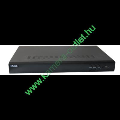 MAZi 08LT 8+2 csatornás rögzítő 8db TURBO HD/analóg/+2 db IP kamerához, ajándék egér, magyar menü, 3 év garancia, díjtalan szállítás!
