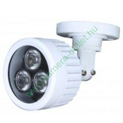 MZ iR30  Kültéri IR sugárzó, 90º-os sugárzási szög, 3 POWER IR LED max. 30m IR táv, 12V DC/ AC 24V