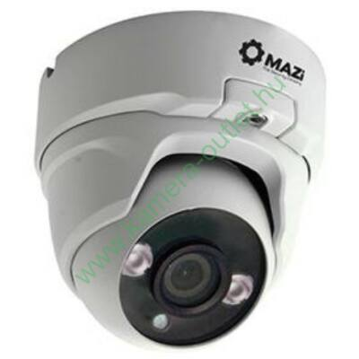 MAZi IVN21IR FullHD 2MP kültéri IP dóm kamera, max.20m IR táv, 95° látószög, 12V/POE, 3 év garancia, díjtalanul szállítjuk!