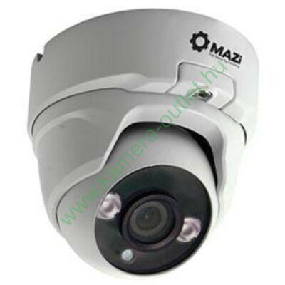 MAZi IVN-21IR FullHD 2MP kültéri IP dóm kamera, max.20m IR táv, 100° látószög, 12V/POE, 3 év garancia, díjtalanul szállítjuk!