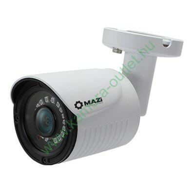 MAZi TWN 44IRL 4MPixel Kültéri kamera HDTVI/HDCVI/AHD és Analóg rögzítőkhöz, éjjellátó:20m IR táv, 70° látószög, 3 év garancia, díjtalan szállítás!
