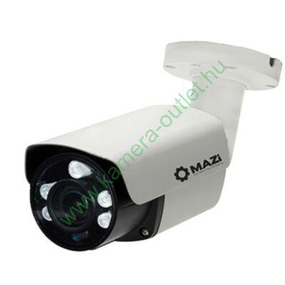 Mazi TWN-43VR 4MPixel Kültéri kamera HDTVI/HDCVI/AHD és Analóg rögzítőkhöz, éjjellátó:45m IR táv, max 90° látószög, manuális zoom, 3 év garancia, díjtalanul szállítjuk!
