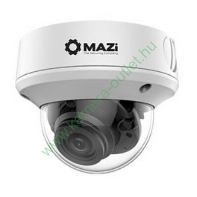 MAZI TVC 53MR 5MPixel Kültéri kamera HDTVI rögzítőkhöz, 5x motoros zoom, éjjellátó:40m IR táv, 92° látószög, 3 év garancia, díjtalan szállítás!