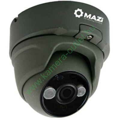 MAZI TVN 21SMIR4B 2MPixel (FullHD) Kültéri kamera HDTVI/HDCVI/AHD és Analóg rögzítőkhöz, éjjellátó:20m IR táv, 108° látószög, 3 év garancia, díjtalanul szállítjuk!