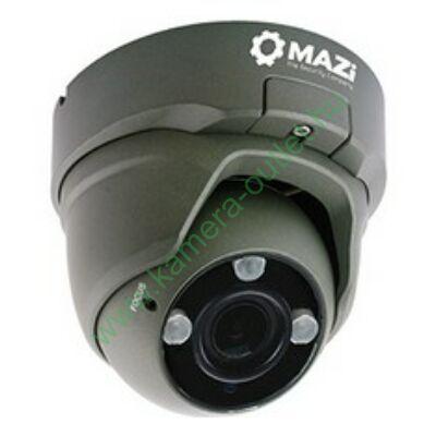 MAZi TVN 21SMVR4B 2MPixel (FullHD) Kültéri kamera HDTVI/HDCVI/AHD és Analóg rögzítőkhöz, éjjellátó:30m IR táv, max 108° látószög, manuális zoom, 3 év garancia, díjtalanul szállítjuk!