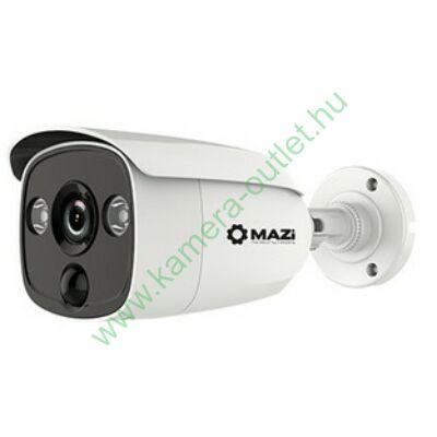 MAZI TWC-21IRS 2MPixel Kültéri kamera HDTVI és Analóg rögzítőkhöz, éjjellátó:25m IR táv, 104° látószög, 12dB WDR, 3 év garancia, díjtalan szállítás!