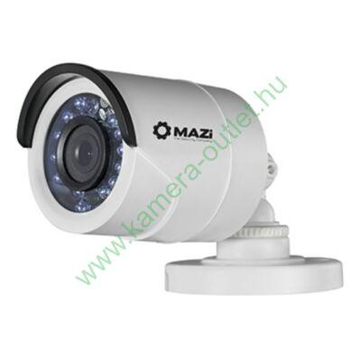 MAZI TWH-11IRL 1MPixel Kültéri cső kamera, Smart IR, max 20m IR táv, 3 év gar. Díjtalan szállítás