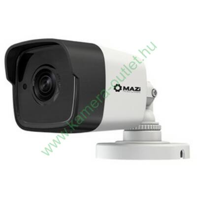 MZ 5TH20BL 4Mpixel HDTVI kamera, max 20m IR táv. 87° látószög, 3 év garancia
