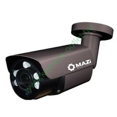 Mazi TWN-23SMVRB 2MPixel (FullHD) Kültéri kamera HDTVI/HDCVI/AHD és Analóg rögzítőkhöz, éjjellátó:45m IR táv, max 108° látószög, manuális zoom, 3 év garancia, díjtalanul szállítjuk!