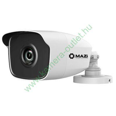 MAZI TWC-22XLR 2MPixel Kültéri kamera HDTVI és Analóg rögzítőkhöz, éjjellátó:40m IR táv, 104° látószög, 3 év garancia, díjtalan szállítás!