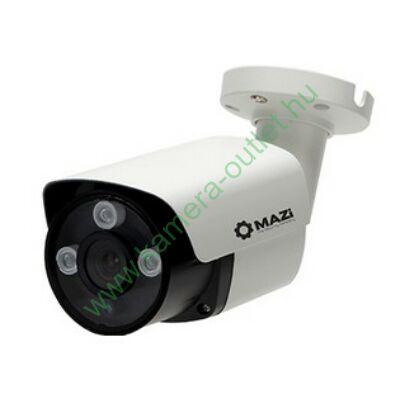 MAZI TWN-43IR 4MPixel Kültéri kamera HDTVI és Analóg rögzítőkhöz, éjjellátó:25m IR táv, 70° látószög, 3 év garancia, díjtalan szállítás!