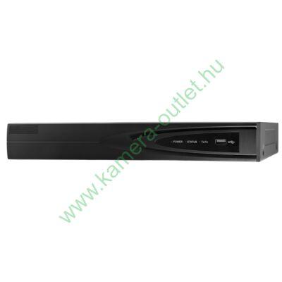 MZ 40LTS 4+2 csatornás rögzítő, 4 db FullHD HDTVI kamerákhoz, 2 db 6 Mpix. IP kamerához, H265+, ajándék egér, magyar menü, 3 év garancia