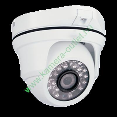 MZ AT11VR 1.3 MPixel Kültéri dóm kamera, HDTVI és Analóg rögzítőkhöz is! Manuálisan zoomolható,  92,6° látószög, max 30m IR táv, 2 év garancia