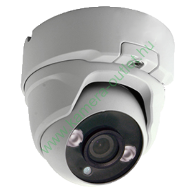 MZ 4T23D4 4MPixel Kültéri kamera HDTVI és Analóg rögzítőkhöz, éjjellátó:20m IR táv, 91° látószög, 3 év garancia!