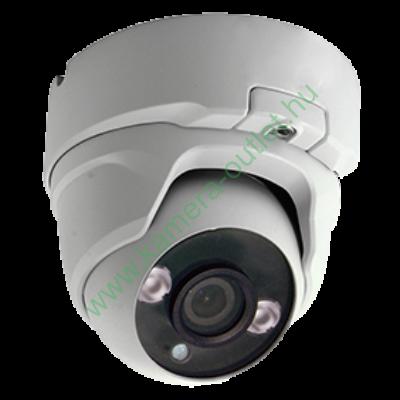 MZ T23D 2MPixel (FullHD) Kültéri kamera HDTVI/HDCVI/AHD és Analóg rögzítőkhöz, éjjellátó:20m IR táv, 108° látószög, 3 év garancia!