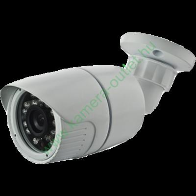 MZ T23B 2MPixel (FullHD) Kültéri kamera HDTVI/HDCVI/AHD és Analóg rögzítőkhöz, éjjellátó:20m IR táv, 91° látószög, 3 év garancia!