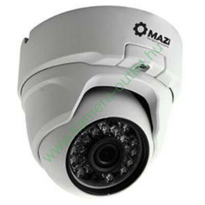 MAZI AVN 71SMIR Kültéri analóg dóm kamera, 800TV sor, max 20m IR táv, emelt kameraház, 67° látószög, 3 év garancia, díjtalan szállítás!