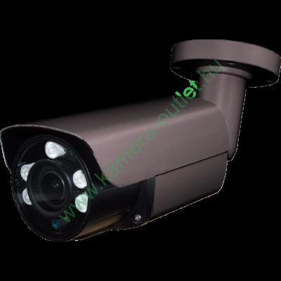 MZ T56B4B 2MPixel (FullHD) Kültéri kamera HDTVI/HDCVI/AHD és Analóg rögzítőkhöz, éjjellátó:50m IR táv, max 108° látószög, manuális zoom, 3 év garancia!
