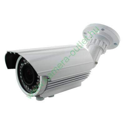 MZ AT11VB 1.3MPixel Kültéri kamera, Smart IR, TVI és Analóg rögzítőkhöz is! 2.8-12mm(92,6-27,4°), 24-30m IR táv (36db), IP66, 2 év gar.